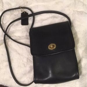 Coach Vintage Turnlock Pouch 9893 Scooter Bag